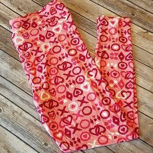 Valentine's leggings